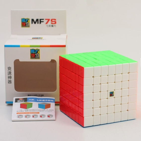 Cubo Moyu Mf7 S Stickerless + Base + Bag