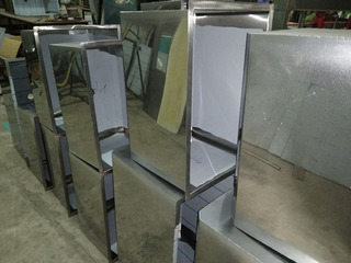 Bacha Industrial Acero Inoxidable Gastronomico 50x40x30cm