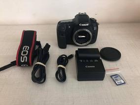 Câmera Canon 60d Só O Corpo 22mil Clicks + Frete Grátis