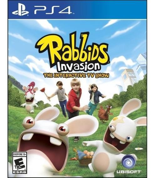 Rabbids Invasion Ps4 Game