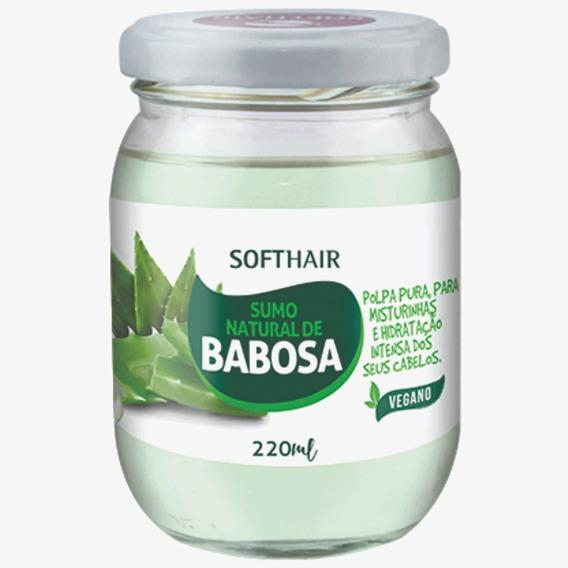 Sumo Natural De Babosa Vegano Softhair 220 G