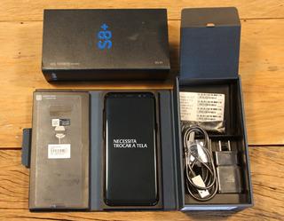 Celular Samsung S8+ 64gb Sm-g955u Atenção: Tela Não Liga