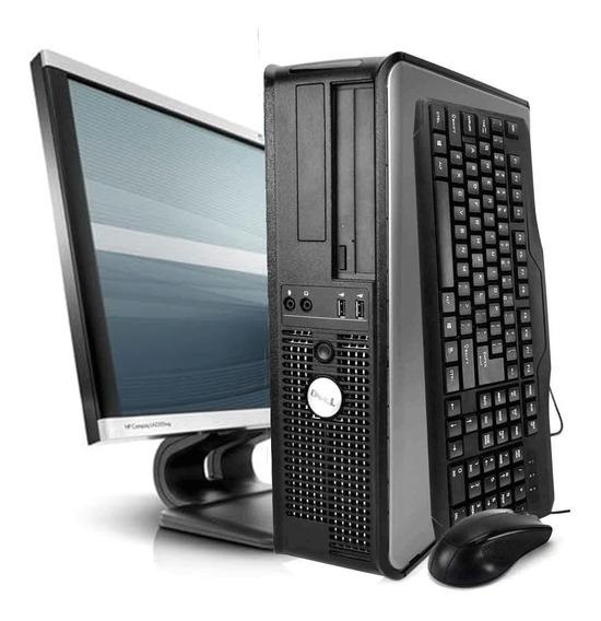 Cpu Dell Optiplex Core 2 Duo 4gb 160gb Wifi + Monitor 22