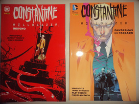 John Constantine Hellblazer Indigno + Fantasmas Do Passado
