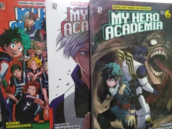 Mangás My Hero Academia N° 4 Ao 6