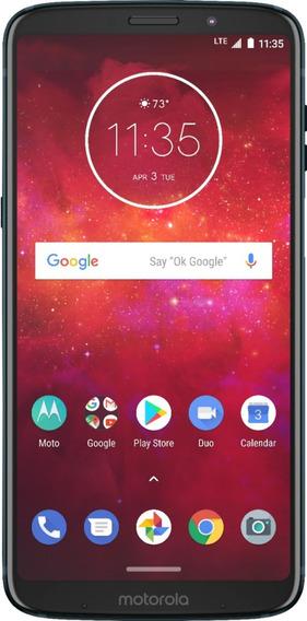 Celular Libre Moto Z3 Play Negro 2581