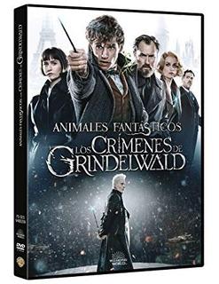 Dvd - Animales Fantasticos 2 - Los Crimenes De Grindelwald