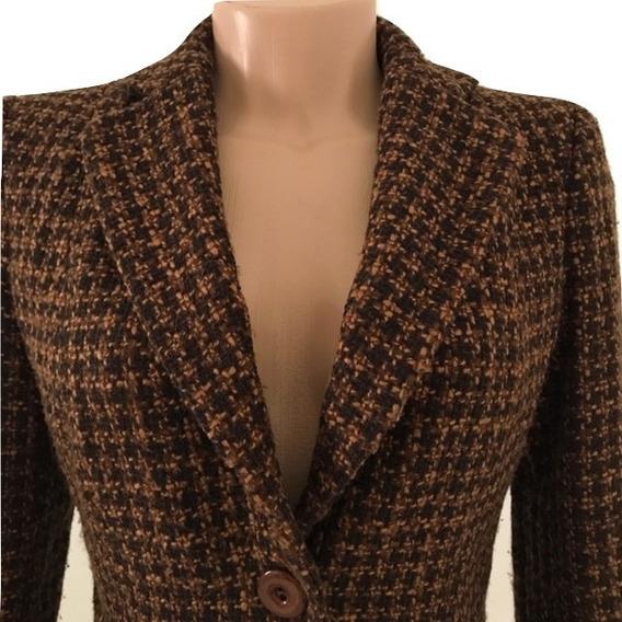 Blazer Casaco De Lã Feminino Importado