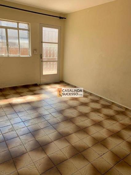 Casa Para Alugar, 150 M² Por R$ 1.300,00/mês - Vila Matilde - São Paulo/sp - Ca6167