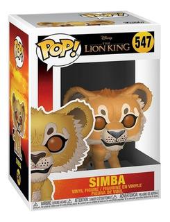 Funko Pop Simba Del Rey Leon #547