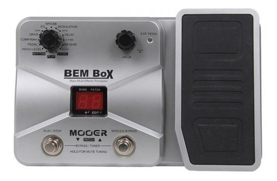 Pedaleira Para Baixo Mooer Multi-efeitos Bem Box - Promoção + Nf + Garantia