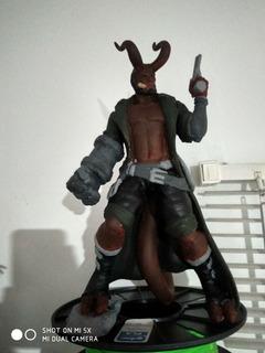Hellboy Pla 33cms Pintado A Mano