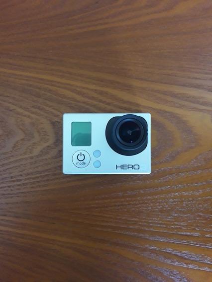 Hero 3 - Gopro - Com Visor Encaixável E Acessórios