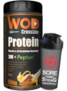 Wod - Protein ( 3w E Peptan ) 900g + Shaker - Procorps
