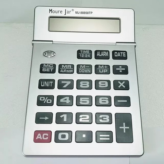 Calculadora De Mesa Grande Gigante M J 12 Digito Que Fala