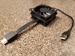 Montaje Con Cooler Chromecast Ultra Para Alto Rendimiento