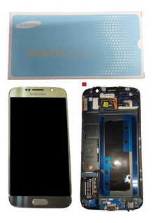 Tela Touch Frontal Display Lcd Galaxy S6 Flat Sm-g920 Origna