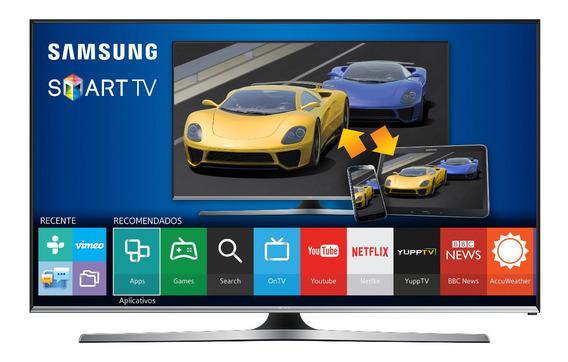 Smart Tv J5500 Samsung 48 Full Hd, Quad Core, Hdmi, Futebol