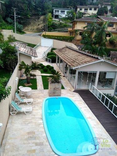 Casa Com 5 Dormitórios À Venda, 750 M² Por R$ 1.500.000,00 - Vila Nova - Blumenau/sc - Ca0395