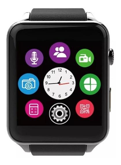 Reloj Inteligente Monitor Cardíaco Podometro Bluetooth Music