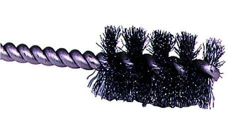 Weiler Potencia Redondo Tubo Brush, Acero, Ronda Shank, Indi