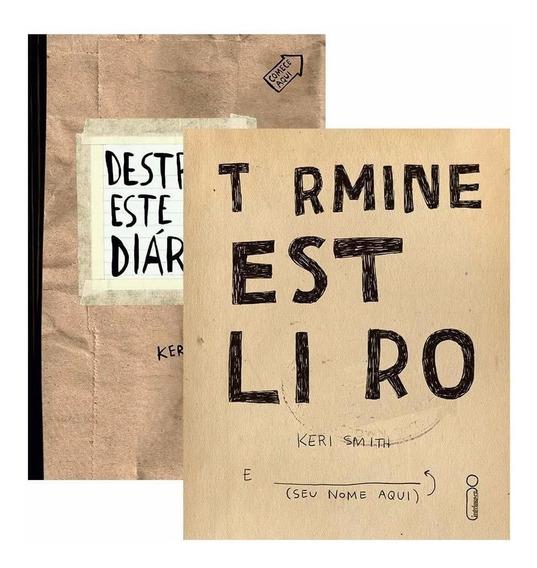 Kit 1 Destrua Esse Diário + 1 Termine Este Livro Intrínseca