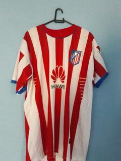 Kit 4 Camisas - Atl. Madrid, Barcelona, Brasil, São Paulo Fc