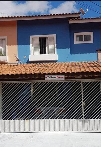 Imagem 1 de 19 de Sobrado Com 3 Dormitórios À Venda, 89 M² Por R$ 280.000,00 - Residencial Bosque Dos Ipês - São José Dos Campos/sp - So0197