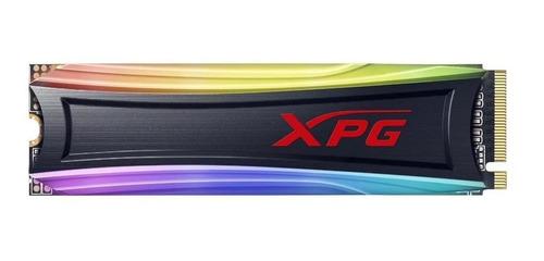 Imagen 1 de 2 de Disco sólido SSD interno XPG Spectrix S40G AS40G-256GT-C 256GB