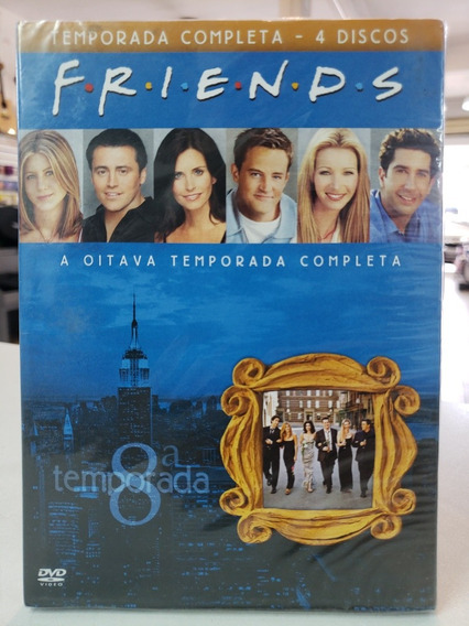 Box Serie Friends 8ª Temporada Original Lacrado