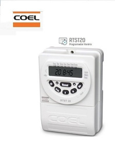 Programador Interruptor Horário Rtst20 100-240v Coel