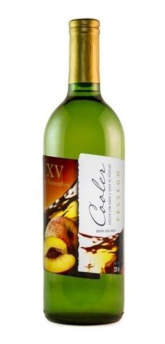 Cooler Vinho Branco C/ Suco De Pêssego - Xv De Novembro