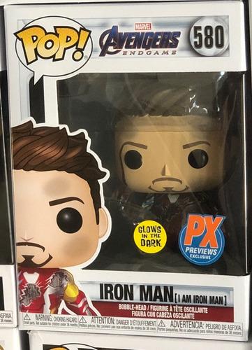 Avengers: Endgame I Am Iron Man Gid Deluxe Pop! Funko 580
