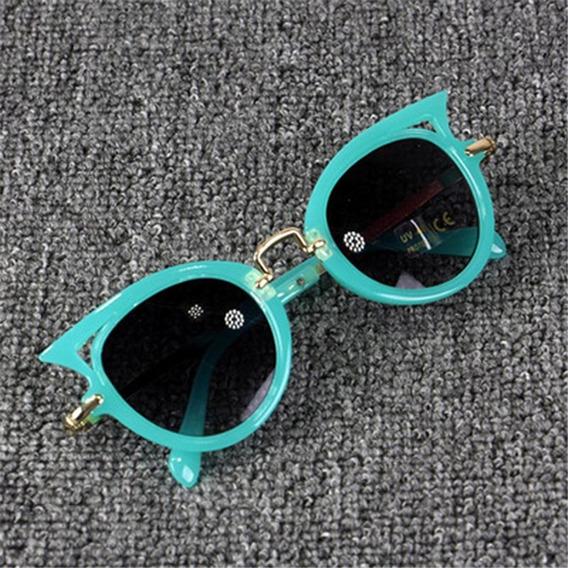 Óculos Infantil De Sol Menina Escuro Proteção Uv Promoção