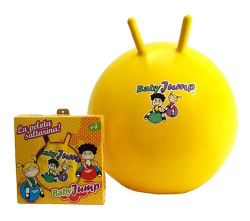 Imagen 1 de 10 de Pelota Saltarina Inflable Turby Toy Baby Jump 4 A 8 Años