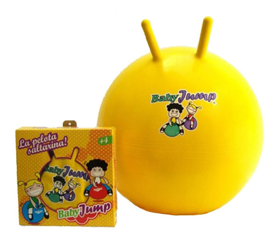 Pelota Saltarina Inflable Turby Toy Baby Jump 4 A 8 Años