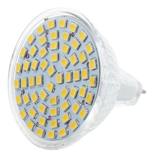 Dicroica Led Mr16 12 Volts 3 Watts Blanco Cálido Mas Zócalo