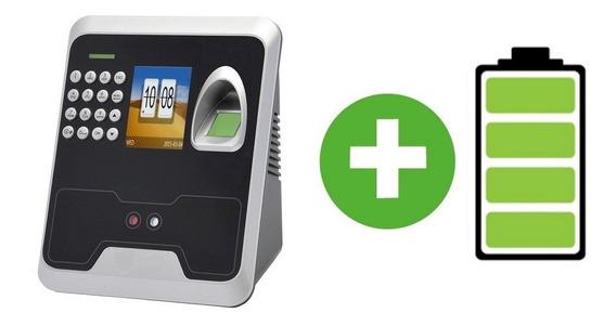 Ups Bateria Reloj Facial Control De Personal Huella Digital