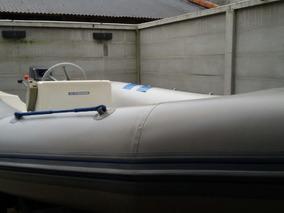 Semirrigido Con Motor Johnson 40 Func Perf C/trailer