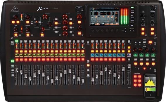 Mesa Digital Behringer X32 Original 32 Canais Usb Pro Shows