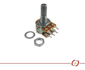 Potenciômetro Linear Duplo - 100k - L20