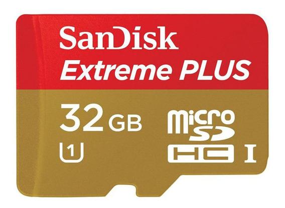 Cartao De Memoria Microsd - Sandisk Extreme 32gb 100 Mb/s U3