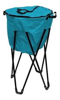 Hielera Plegable Camping Práctica Y Fácil De Transportar