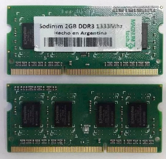Memoria Magnumtech Ddr3 2gb 1333mhz Notebook Ins S/carg