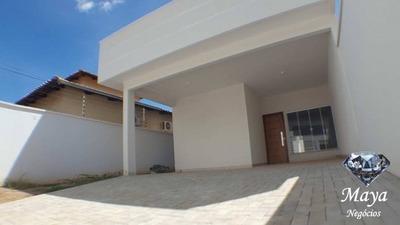 Casa 3 Quartos, C/ Closet, 117 M² Na 507 Sul - 343