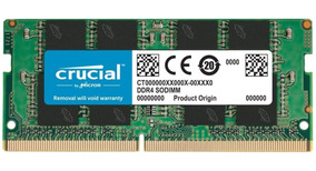 Memoria Notebook 16gb Ddr4 2400mhz Crucial Novo Original