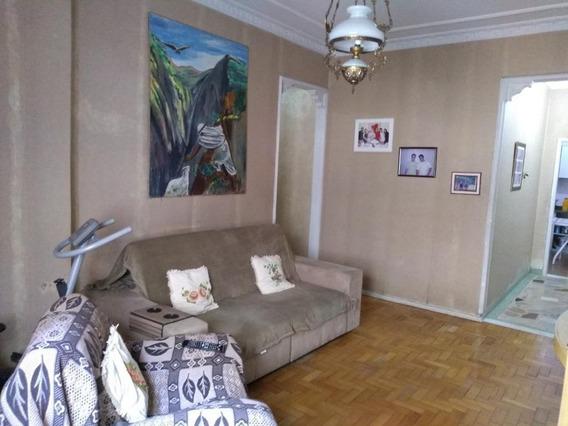 Apartamento Espaçoso Com 2 Quartos À Venda, 102 M² Por R$ 350.000 - Centro - Niterói/rj - Ap3393