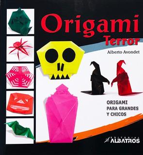 Origami Terror - Fantasmas - Murciélagos - Halloween