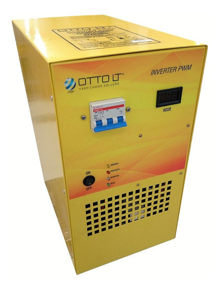 Inversor Solar Pwm5000 5kva Off-grid 100% Nacional