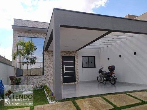 Imagem 1 de 16 de Imob02 - Casa 105 M² - Venda - 3 Dormitórios - 1 Suíte - Jardins Do Império - Indaiatuba/sp - Ca0777